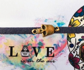 Rock & Roll Leather Bracelet by Bushka Love